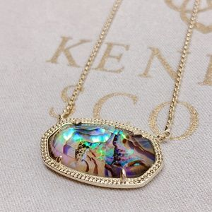 Kendra Scott Gold Abalone Shell Delaney